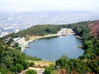 Черепашье озеро. Плато Нуцубидзе (Тбилиси)