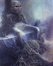 художник Здислав Бексинский