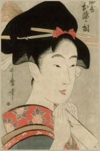 художник Китагава Утамаро