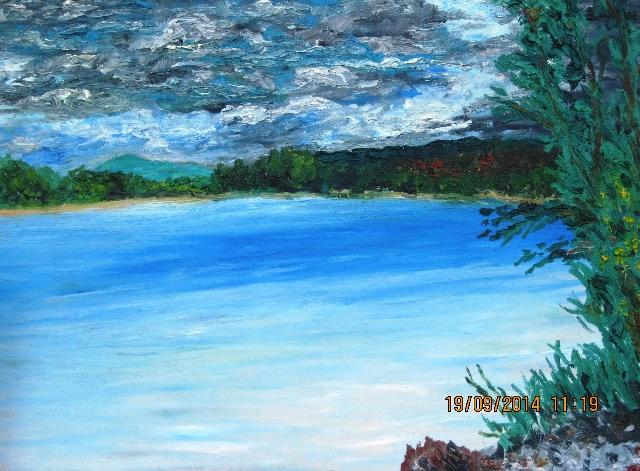 Река Туба. 2014