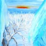 Поездка из Магистрального в Иркутск (работа автора)