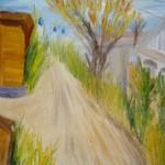 Улицы города Иркутска (работа автора)