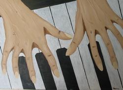 Пианистка (работа автора)